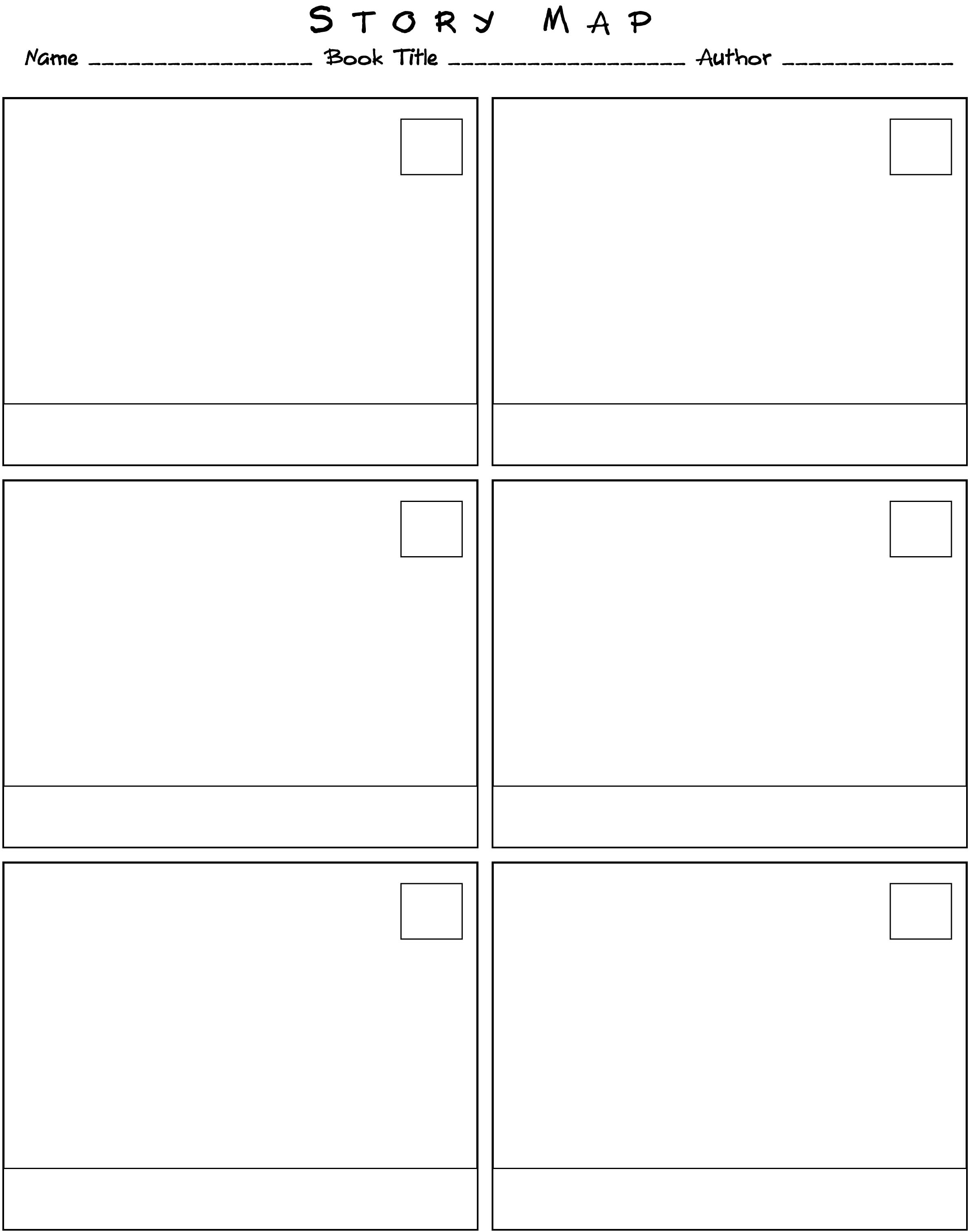 Published September 12, 2009 in Graphic Organizers II: Story Map ...