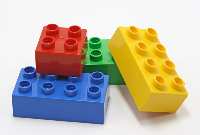... blocks, lay them out, and build them up in creative ways to make  sentences and stories! You can even color-coordinate the blocks by part of  speech, ...
