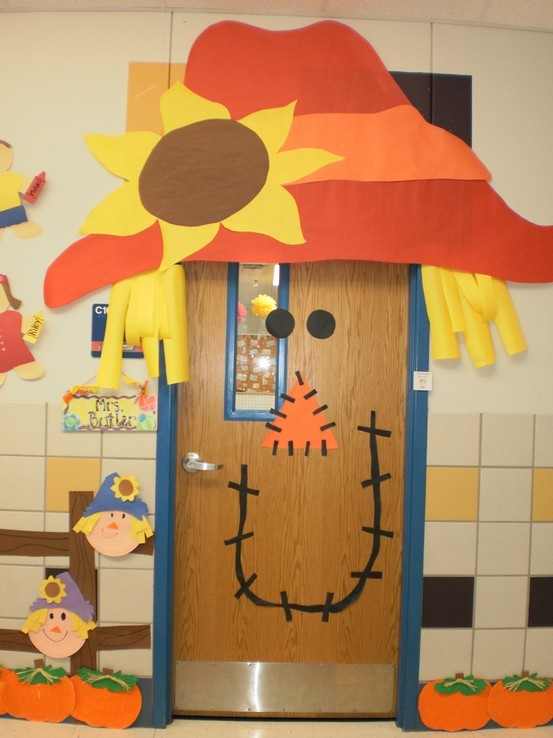 Classroom Door Decoration Ideas For October ~ Bulletin boards a learning experience